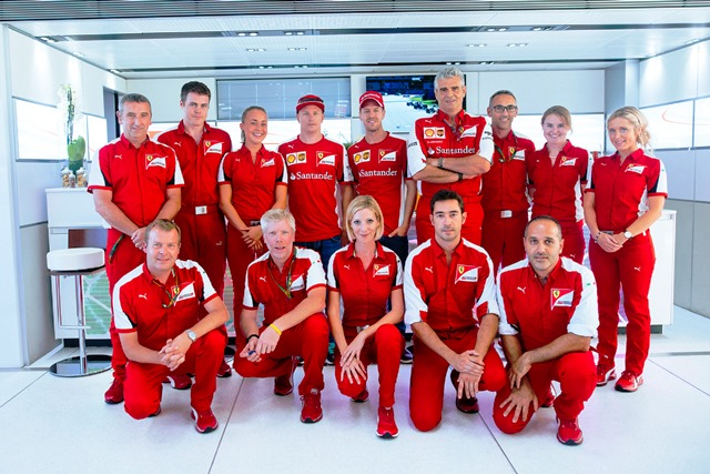Monza 2015 Race weekend Philip Morris Paddock Complex crew
