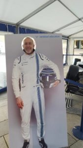 Racing Driver Stuart Wigley!